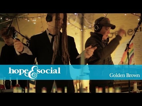 HOPE & SOCIAL | GOLDEN BROWN ( CRYPT COVER )