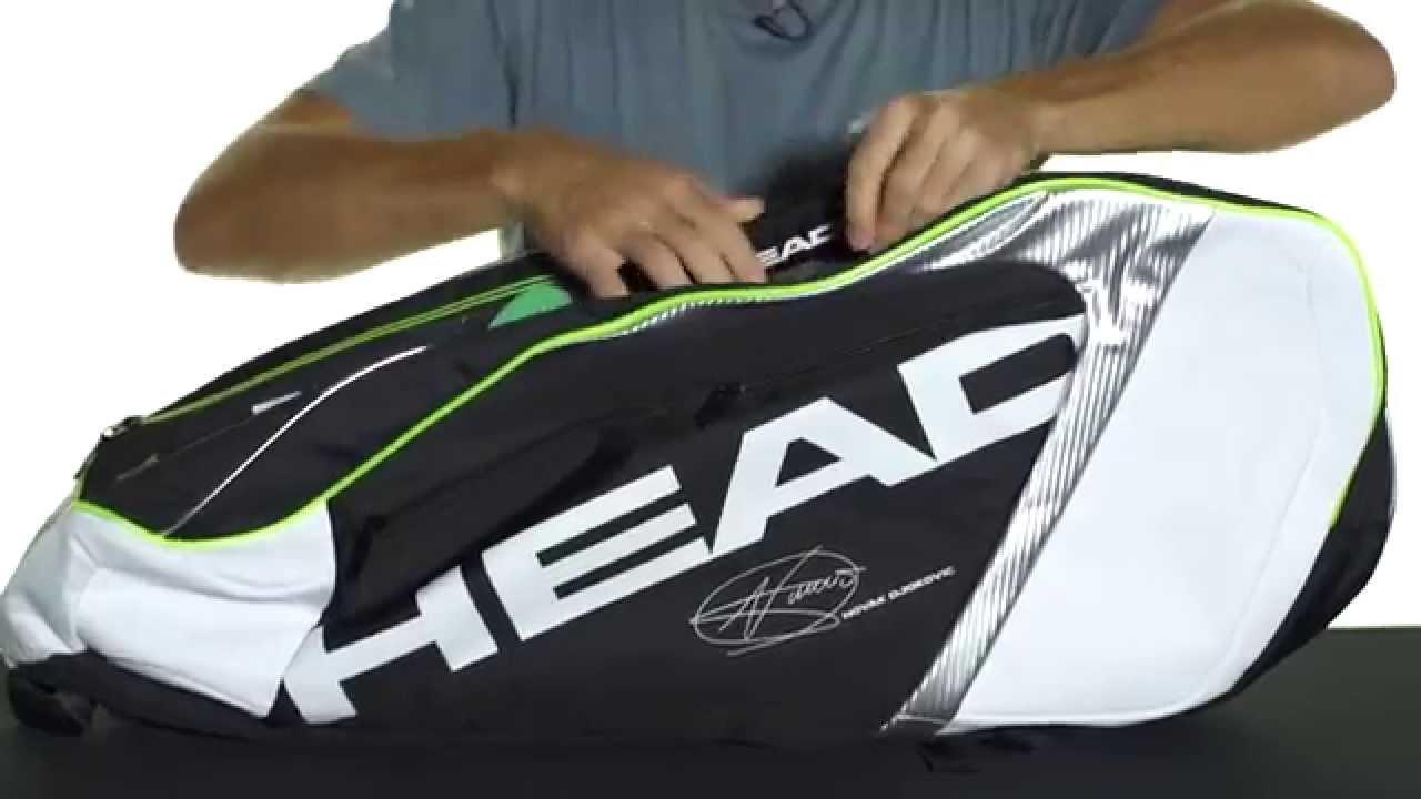 Head Djokovic Series 9r Supercombi Bag 2015 Youtube
