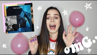 LIAM PAYNE FIRST TIME EP REACTION (omg)