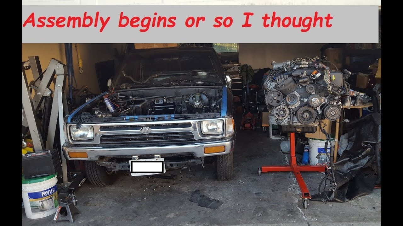 Toyota Pickup V8 Installing a 1UZFE swap kit | How to EP 2