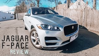 2018 / 2019 JAGUAR F-PACE | Review & Test Drive