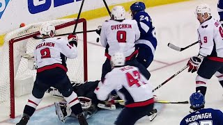 Callahan awarded goal after review for goalie interference
