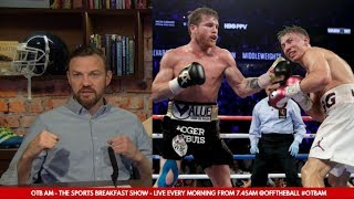 Andy Lee: Canelo and GGG's fight for the ages | Mayweather vs. Pacquiao | Anthony Joshua