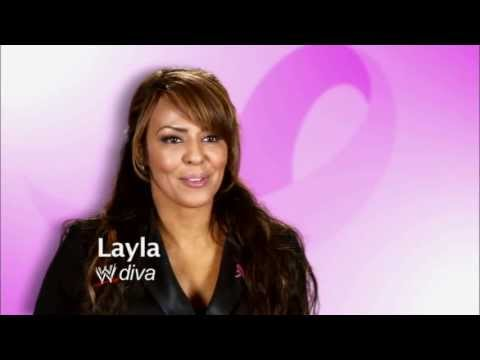 WWE Divas Layla talks about her mother's struggle with breast cancer.