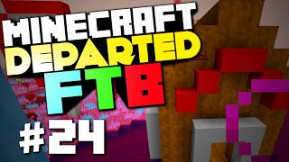 """FTB Departed #24 """"Candyland, Big Announcement"""" (Nevermine 2 Advent Of Ascension)"""
