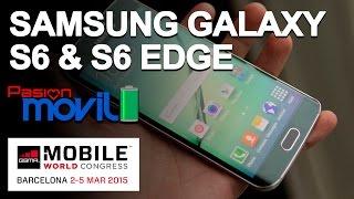 Samsung Galaxy S6 & S6 EDGE en el Mobile World Congress 2015