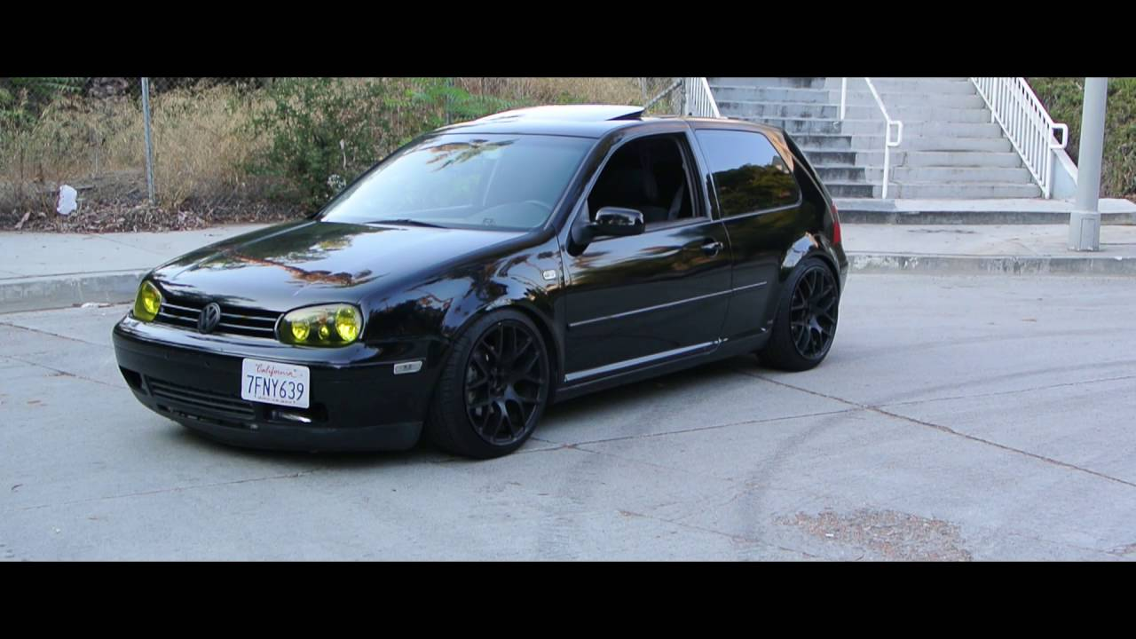 mk4 volkswagen gti lowered boosted youtube