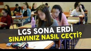 2019 LGS NASIL GEÇTİ? / sokak röportajı
