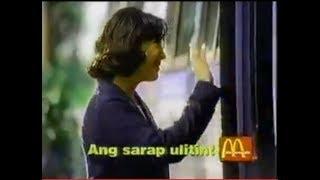 90's McDonald's TVC feat. Sharon Cuneta