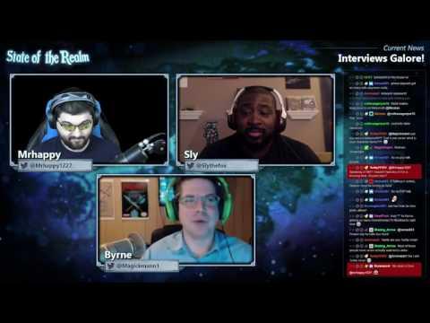 State of the Realm #106 - Byrne Returns! JP Interviews & Korean Live Letter