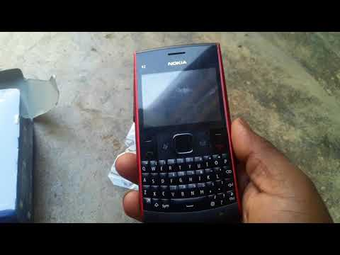 Nokia x2 01 unboxing