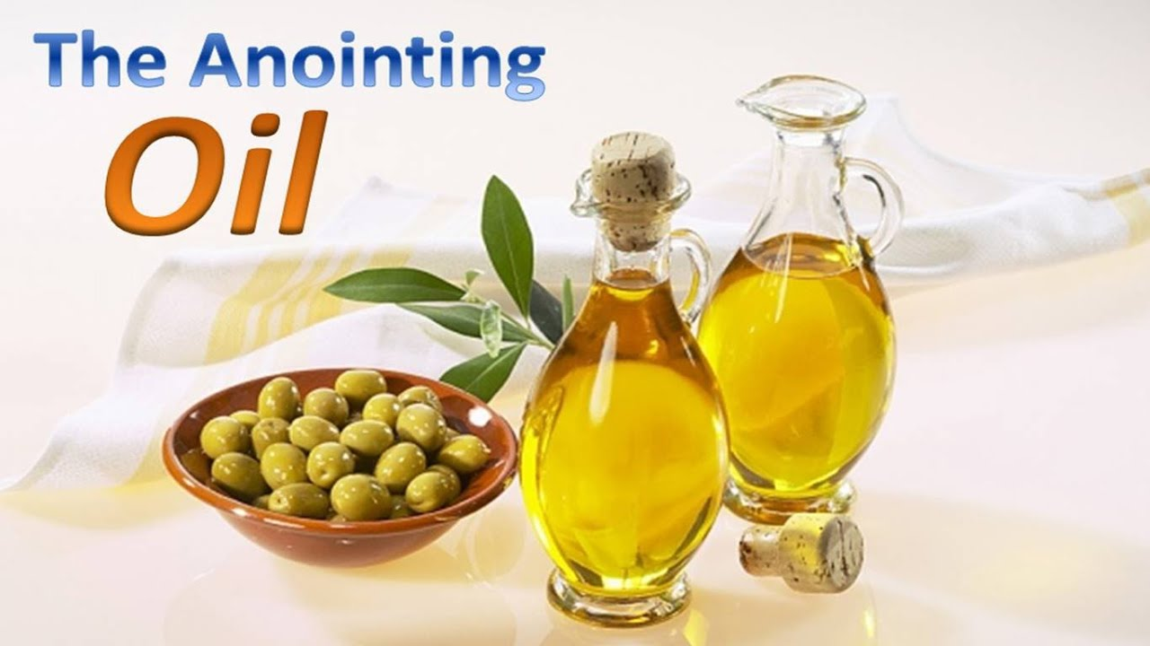 Image result for anointing with oil