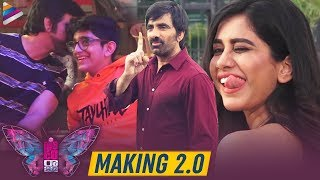 Disco Raja Movie Making 2.0 | Ravi Teja | Nabha Natesh | Payal Rajput | VI Anand | Thaman S | Sunil