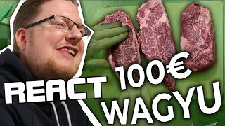React: PietSmiet kocht 100€ Wagyu-Steak