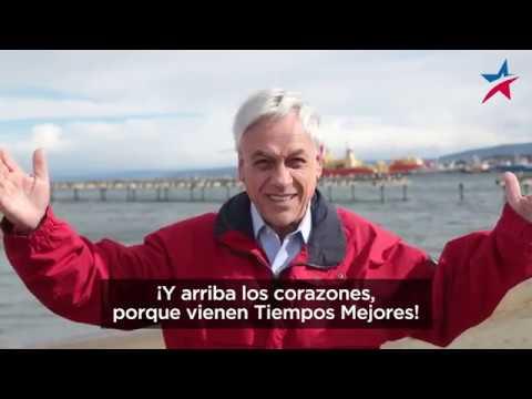 Sebastián Piñera los invita a apoyarlo en Mucho Gusto de Mega