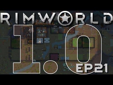 RIMWORLD 1 0   Doors and Corners   Ep 21   RimWorld 1 0