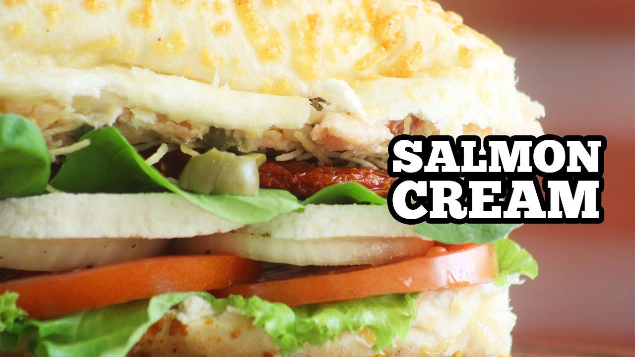 Salmon Cream - Lanche Natural Light com Salmão - Sanduba Insano