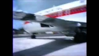 Boeing 727 南の島 珊瑚礁フライト ヤップ島 検索動画 38