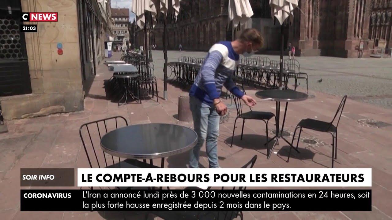 Déconfinement : le compte a rebours est lancé pour les restaurateurs