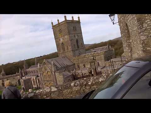 Travel Guide St David's Cathedral Pembrokeshire South Wales UK Review