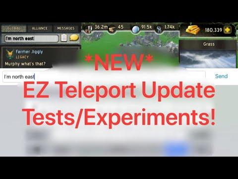 Empire Z: Testing Teleport Dodging Update
