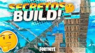 SECRETS TO BUILD LIKE A PROFESSIONAL IN FORTNITE !!