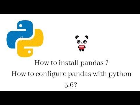 install pandas with pip windows