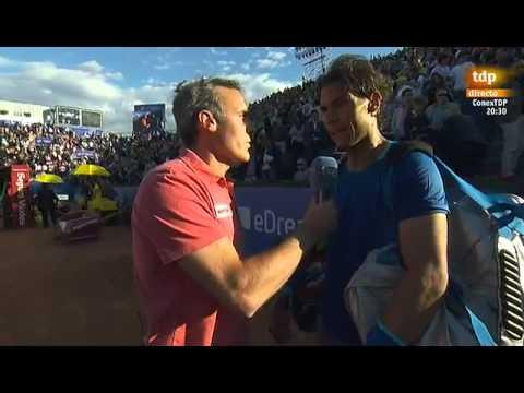 Rafael Nadal's reaction to the death of Tito Vilanova