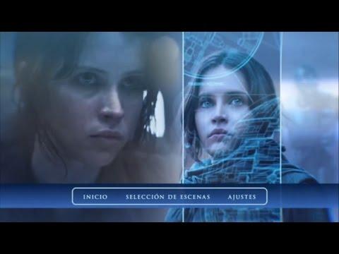 Rogue One Blu-Ray Menu Screen