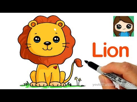 How to Draw a Lion Cute and Easy