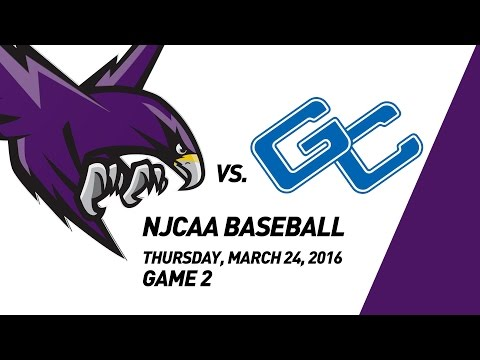 Montgomery College Raptors Baseball vs. Garrett College Lakers, 3/24/2016, Game 2