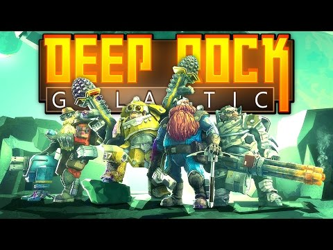 Deep Rock Galactic - Space Mining Dwarves! - Let's Play Deep Rock Galactic - Closed Beta