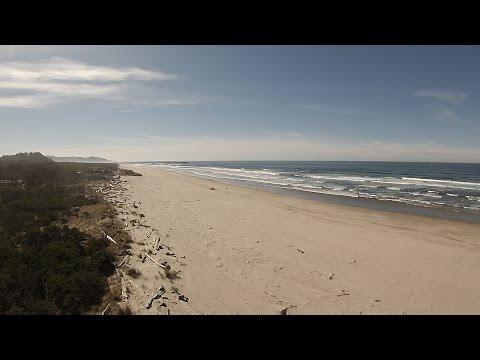 Rockaway Beach Oregon Filmed with Yuneec Q500