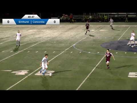 2019-09-11 Elmhurst College Men's Soccer Vs Concordia University Chicago