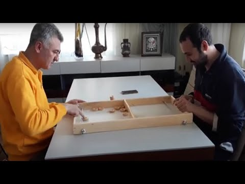 disk-atma-oyunu-/-diy-finger-hockey-game-/-wooden-game-build