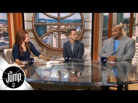 How to rank Giannis Antetokounmpo, LeBron James in fantasy basketball | The Jump | ESPN