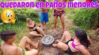 Elena, Wendy y Nano casi de desnudan pero todo sea por ser los ganadores😱 Carneada. Parte 6