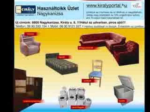 Király Udvar Használtcikk Üzlet Nagykanizsa http://www.kiralyportal.hu Hungarian Second Hand Shop