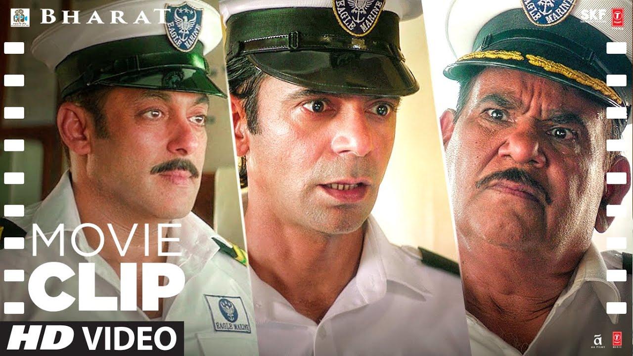 Aap Senior Hai Aap Bataiye   Bharat   Movie Clip   Comedy Scene   Salman Khan, Katrina Kaif, Sunil G