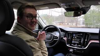 Video Tour of the 2019 Volvo V60 at Lovering Volvo Cars Nashua