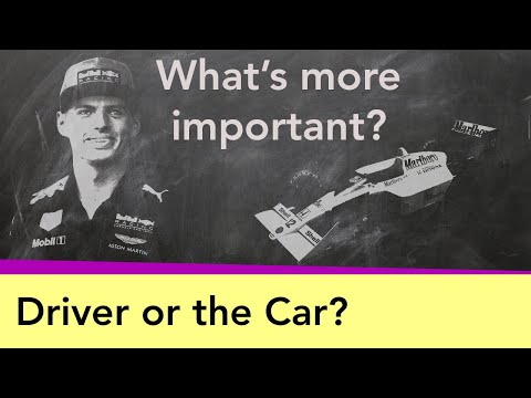 F1 - What's More Important: The Driver Or The Car?