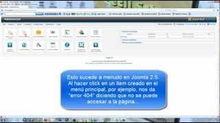 видео Страница ошибки 404 для Joomla 3 | Создание сайта с нуля
