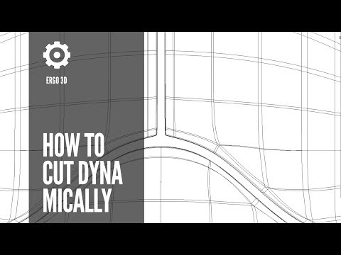 E3D 013: How to cut dynamically