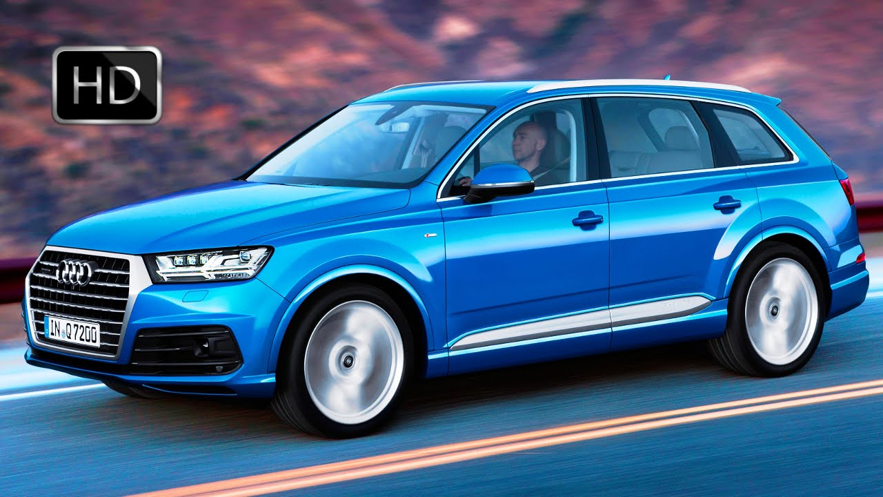 2016 audi q7 suv e tron quattro diesel plug in hybrid exterior and interior design hd youtube. Black Bedroom Furniture Sets. Home Design Ideas