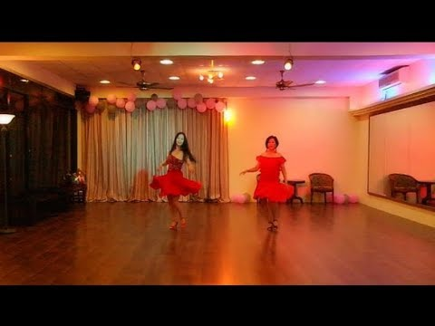 Lady In Red Line Dance (Demo) - Simon Ward, Australia, April 2017