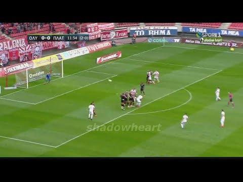 Ολυμπιακός-Πλατανιάς 2-0 Highlights / Κύπελλο Ελλάδος / Φάση των 16 / 2ος αγ. / {10/1/18}