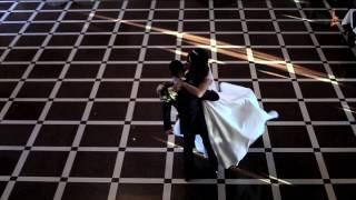 Зимний свадебный клип