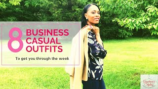 8 Business Casual Outfits To Get You Through The Week