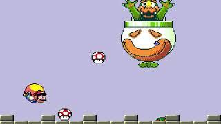 """[TAS] SNES Super Mario World """"warps"""" by BrunoVisnadi in 09:54.35"""