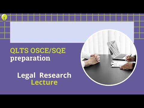 Legal Research Lecture - YouTube
